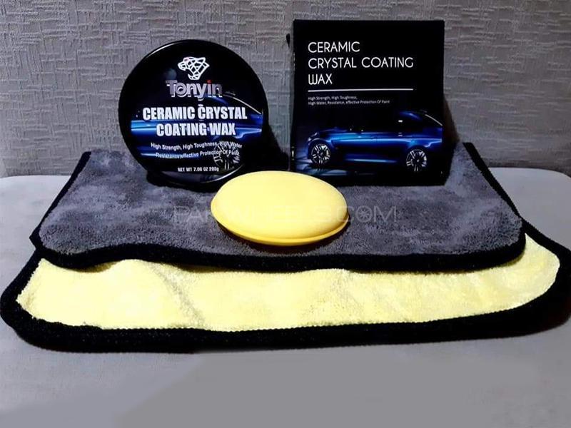 Tonyin Ceramic Crystal Coating Wax Pack 1 Image-1