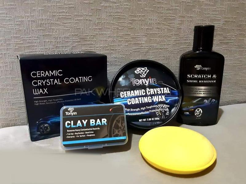 Tonyin Ceramic Crystal Coating Wax Pack 6 Image-1