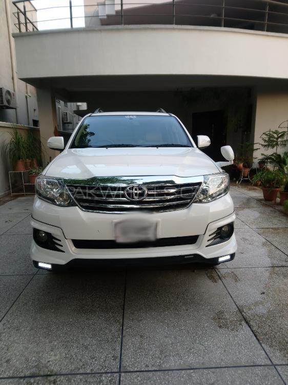 Toyota Fortuner TRD Sportivo 2016 Image-1