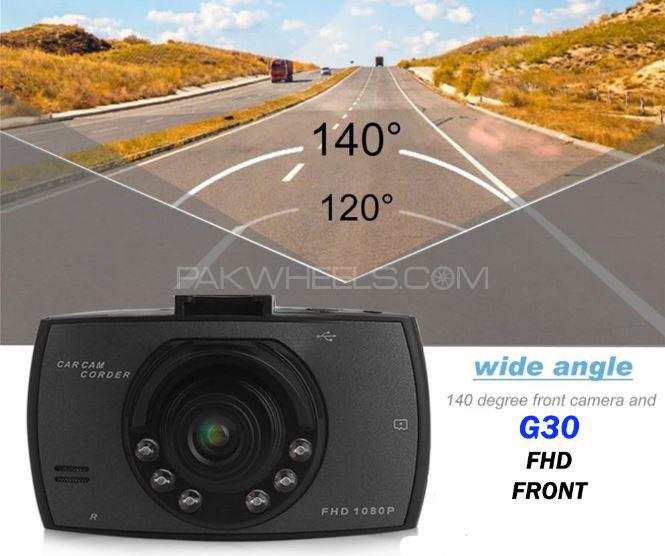 Car Camera G30 Full HD 1080P Car DVR Recorder Dash Cam Camera G-Sensor Image-1