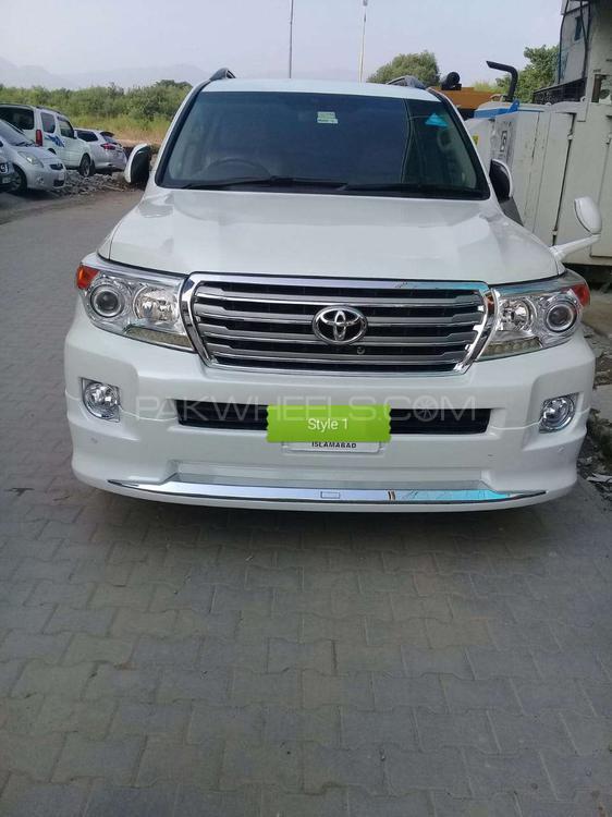Toyota Land Cruiser AX G Selection 2008 Image-1