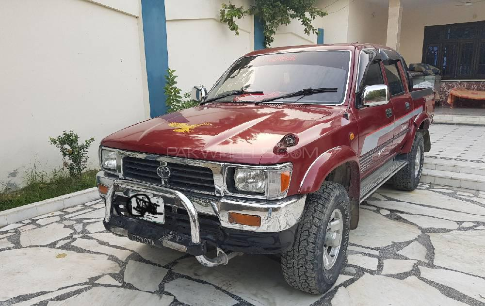 Toyota Hilux Double Cab 1993 Image-1