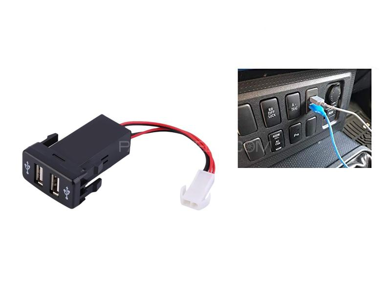 2 In 1 Usb Socket Switch Image-1