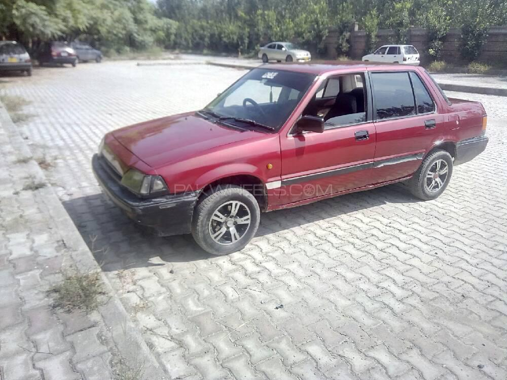 Honda Civic 1984 Image-1