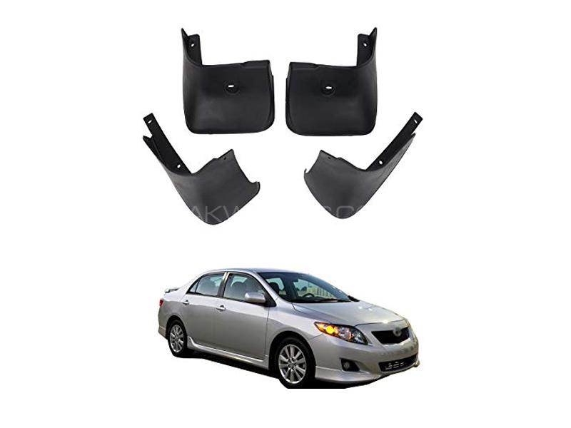 Toyota Corolla Mud Flap Set 4pcs 2009-2012 in Lahore