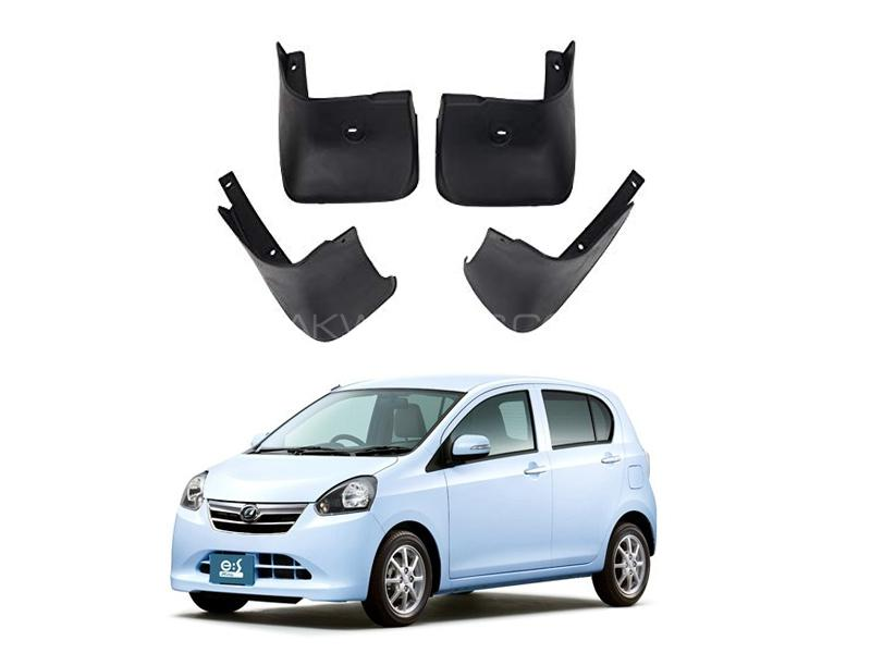 Daihatsu Mira Mud Flap Set 4pcs 2006-2017 in Lahore