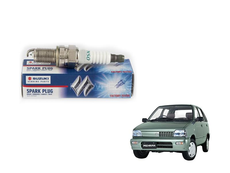 Genuine Spark Plug For Suzuki Mehran 1Pc 2012-2019 in Lahore