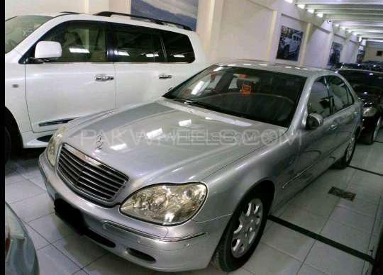Mercedes Benz S Class S500 2001 Image-1