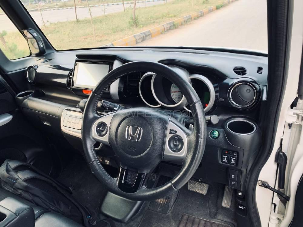 Honda N Box Custom G-TURBO PACKAGE 2016 Image-1