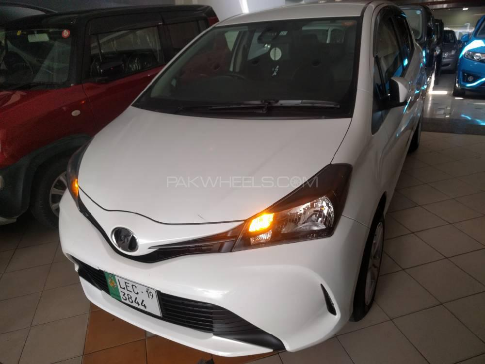Toyota Vitz F Intelligent Package 1.0 2015 Image-1