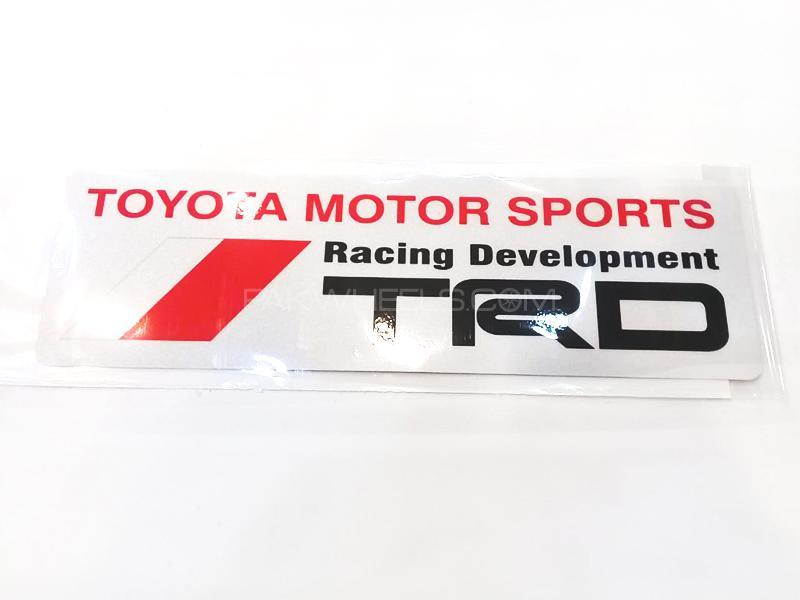 TRD Motor Sports Sticker  Image-1