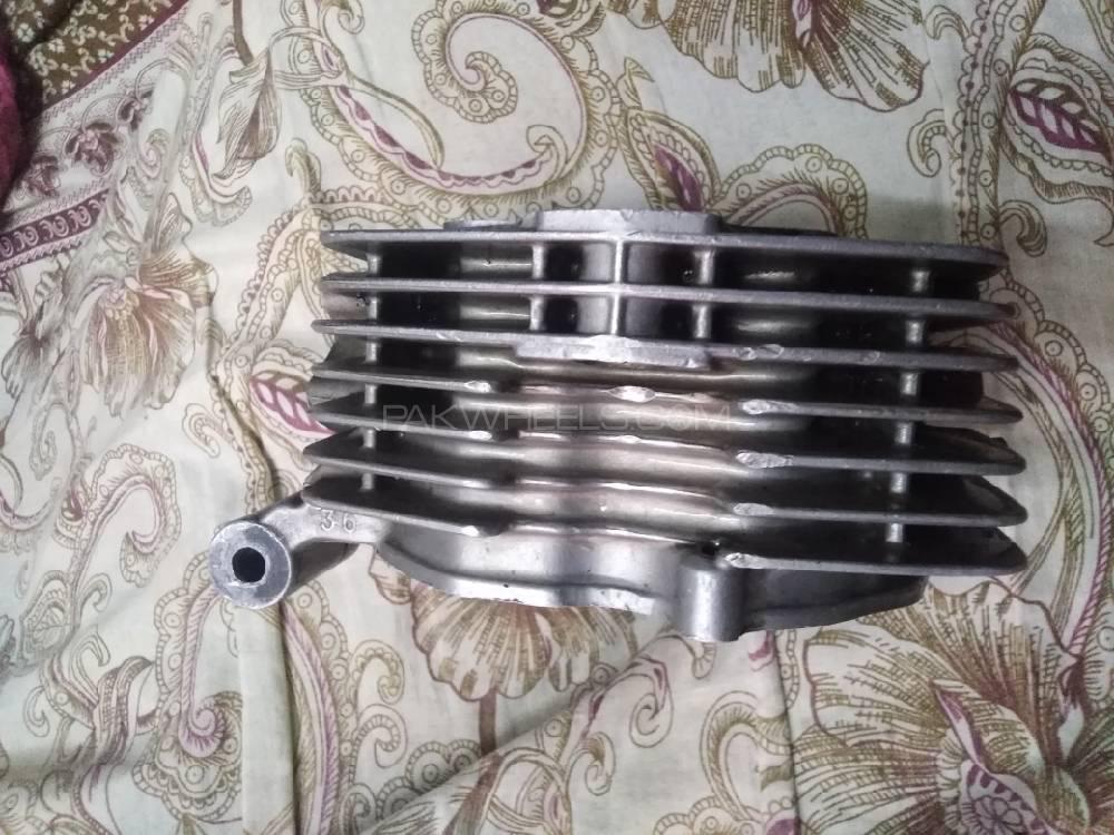 Honda cg 125 Orignal head Image-1