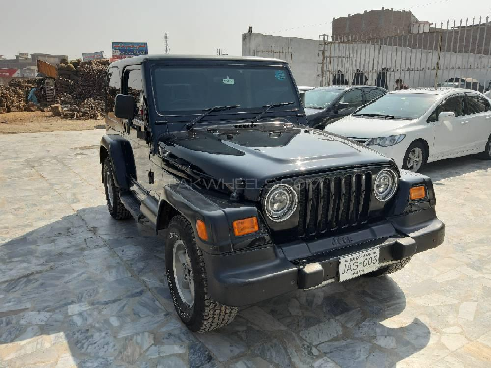 Jeep Wrangler Special Edition 1997 Image-1