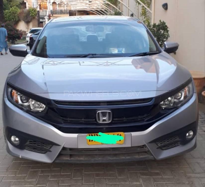 Honda Civic Turbo 1.5 VTEC CVT 2019 Image-1