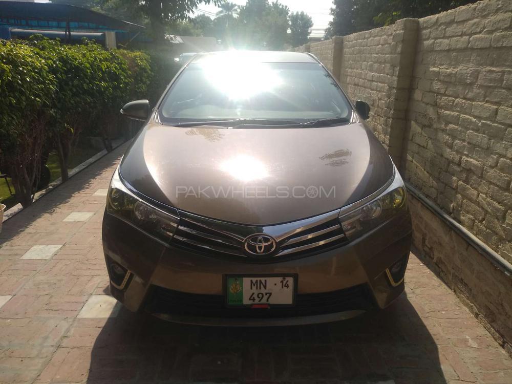 Toyota Corolla Altis Cruisetronic 1.8 2014 Image-1