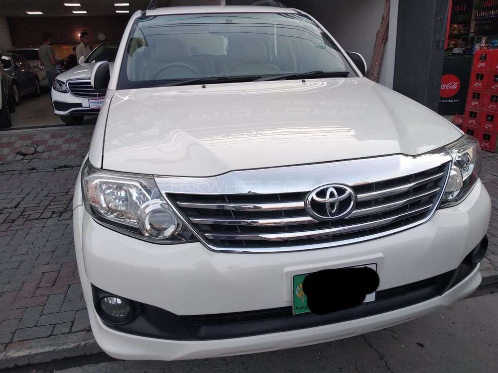 Toyota Fortuner 2.7 VVTi 2014 Image-1