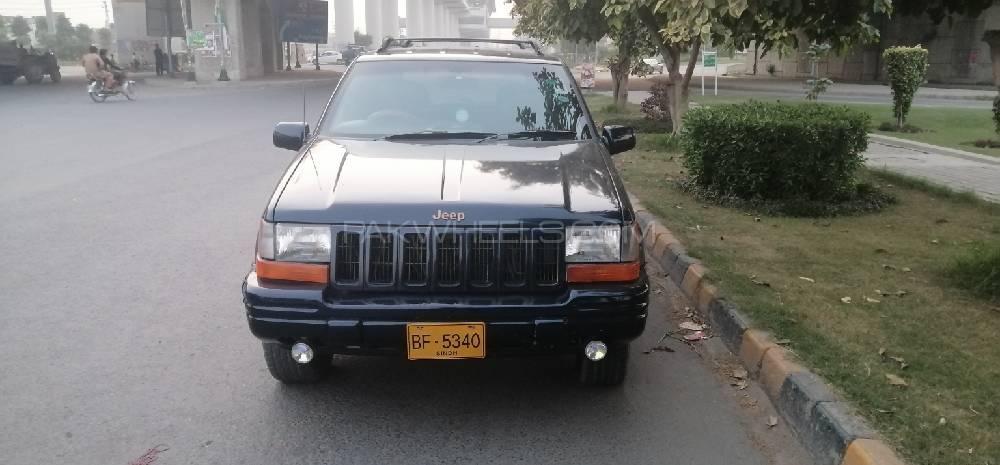 Jeep Cherokee 1996 Image-1