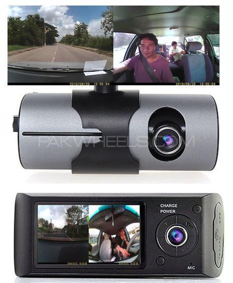 ALL CAR DVR DASH CAM 3 IN 1 FRONT-INSIDE-GPS AUDIO VIDEO Camera LATEST Image-1