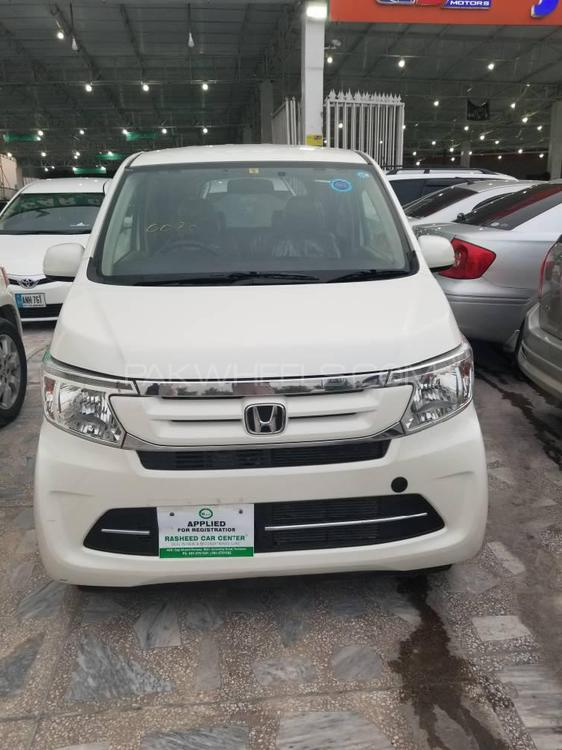 Honda N Box 2 Tone Color Style - G SS Package 2017 Image-1