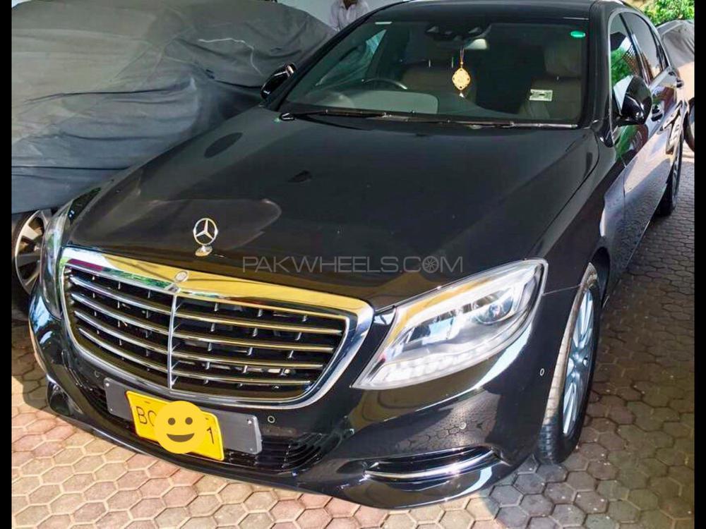 Mercedes Benz S Class S400L Hybrid  2015 Image-1