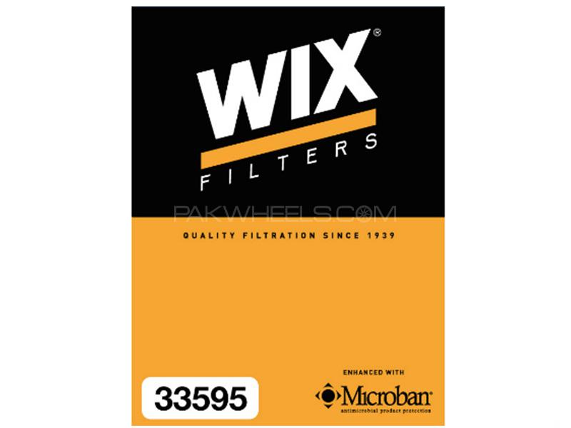 Wix Air Filter For Toyota Corolla Grande 2014-2019 - Made in Poland Image-1