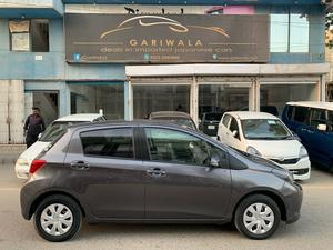 ®GARIWALA® Toyota Vitz, 1000C.c, Spider Shape, Pearl/Grey Gun-Metallic,  F-Smart Package with Safety Sense, Model 2016, Fresh cleared/import 2019, Original Auction Sheet ( verifiable ), Original 69,000 K.M ( Verifiable ), Original Toyota Safety Sense, Lane Departure Alert, Automatic High Beam, Original Retractable Mirrors, Vehicle stability control, Traction Control, Power Steering, Power Windows,  Safety Air-Bags, Smart Steering, Original CD-Player with original back camera,