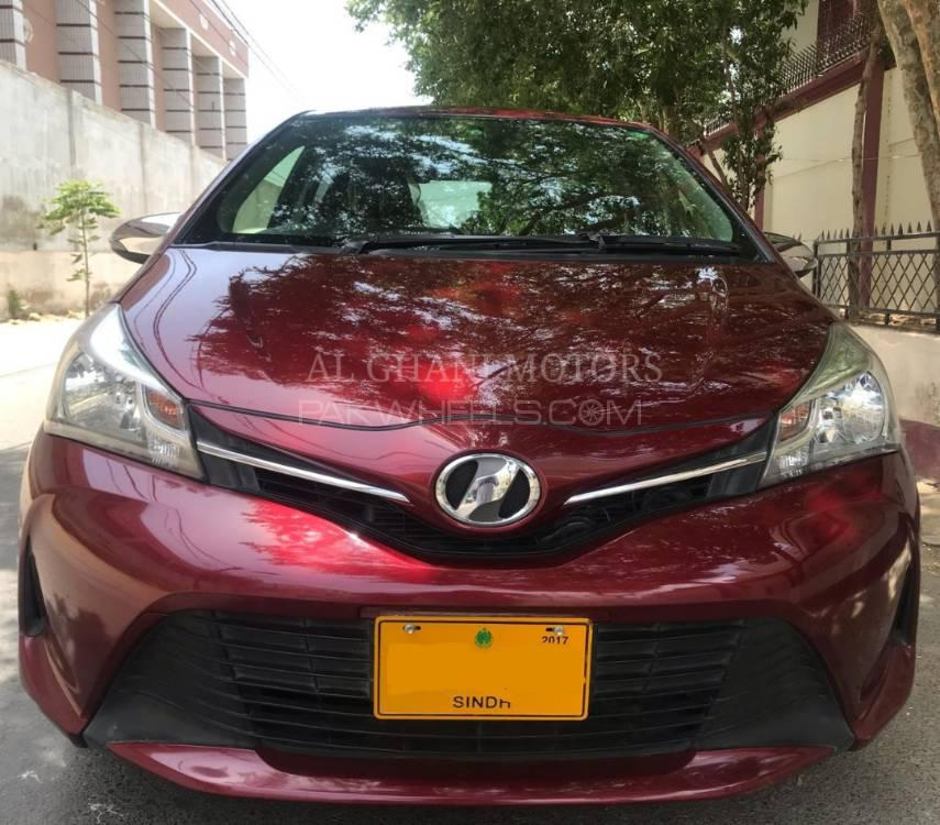 Toyota Vitz Jewela Smart Stop Package 1.3 2014 Image-1