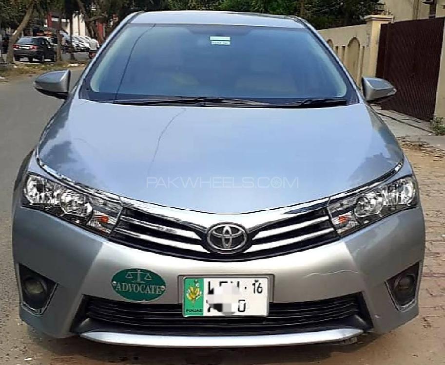 Toyota Corolla GLi Automatic 1.3 VVTi 2015 Image-1