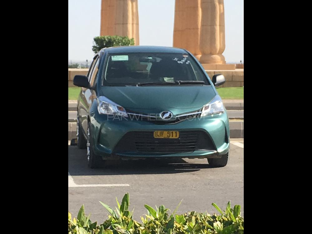 Toyota Vitz Jewela Smart Stop Package 1.0 2014 Image-1