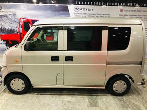 Nissan clipper EVERY VAN 2014 model. 2019 fresh import Converted 7 Seater.  Full Hiace seats installed  7 Seats total.  3-2-2 Full Ac working Automatic gear Safeguard install Original tv and back cam  Price negotiable   Call for details