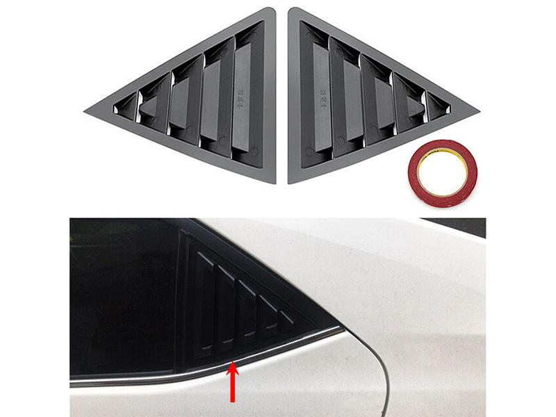 Toyota Corolla 2014-2019 Side Vent Window Scoop Cover  Image-1
