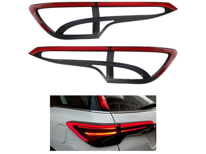 Toyota Fortuner 2016-2019 Rear Light Cover With LED  Image-1