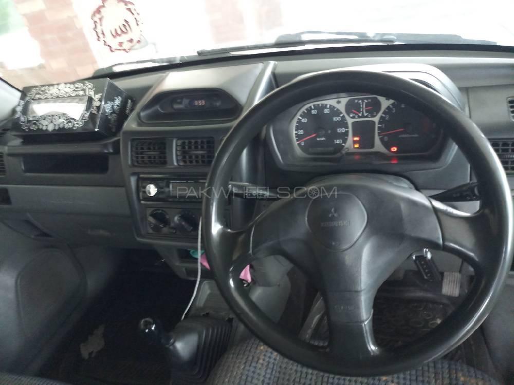 Mitsubishi Pajero Mini ZR 1999 Image-1