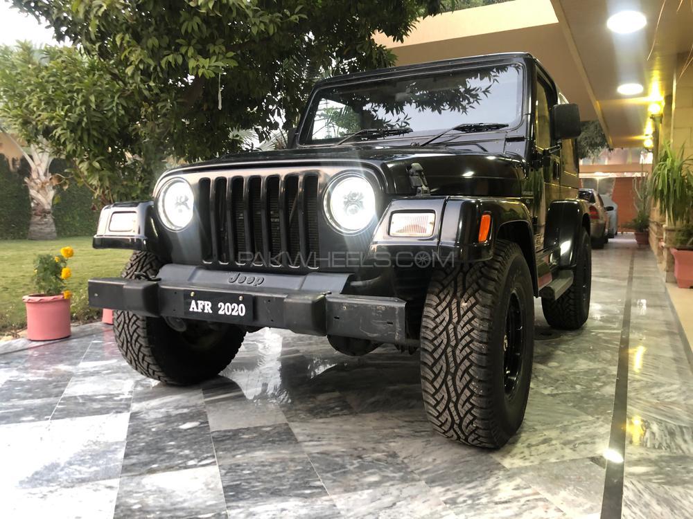 Jeep Wrangler 1999 Image-1