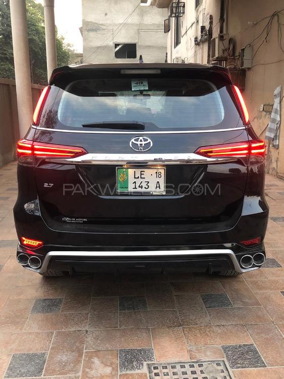Toyota Fortuner - 2018  Image-1