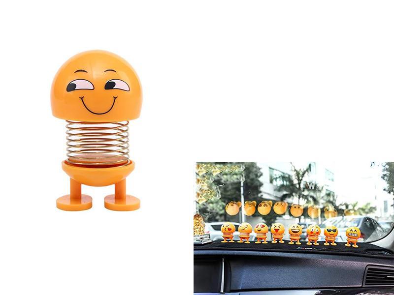 Car Dancing Spring Emoji Toy For Dashboard F2 Image-1