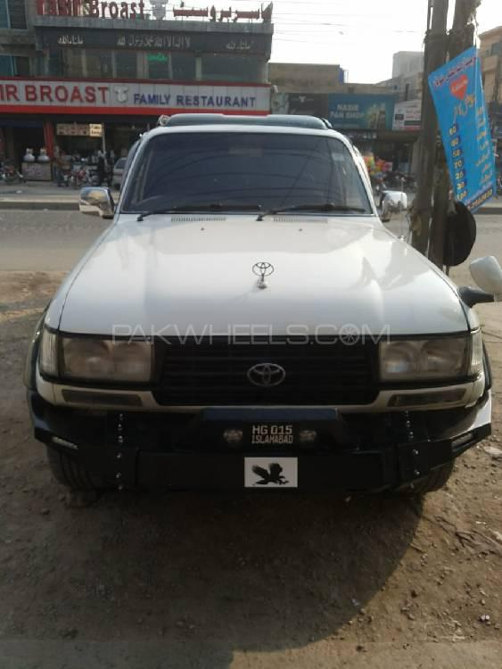 Toyota Land Cruiser VX Limited 4.2D 1990 Image-1