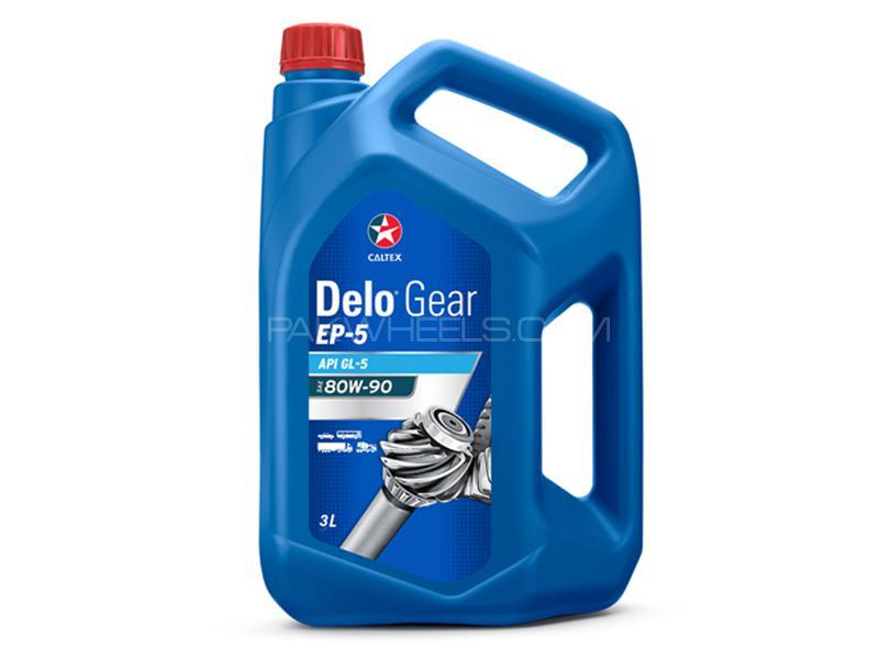 Caltex Delo Gear EP-5 SAE 80W-90 GL5 - 3 Litre Image-1