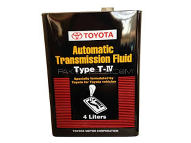 Toyota Genuine ATF Type T-IV Fluid - 4 Litre Image-1
