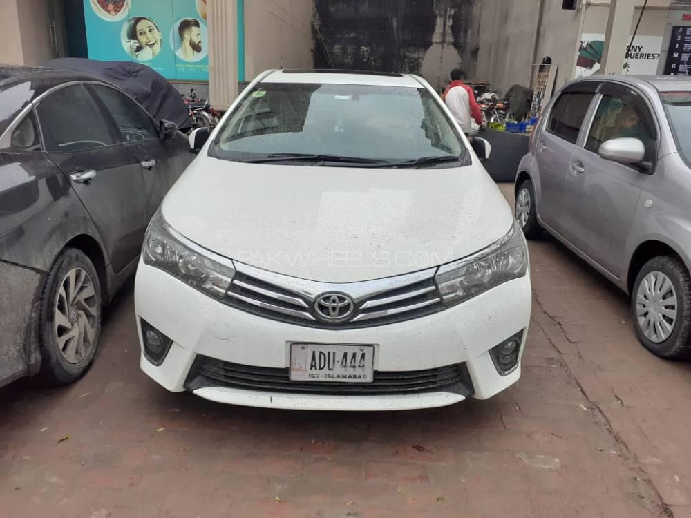 Toyota Corolla Altis Grande 1.8 2017 Image-1