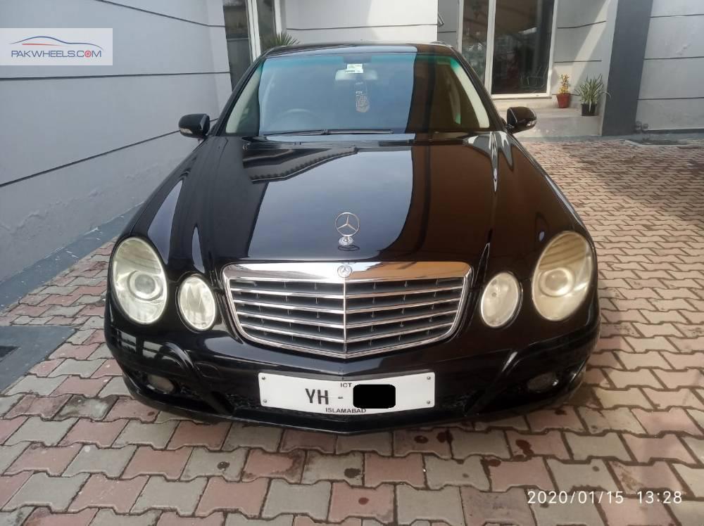 Mercedes Benz E Class Estate E 200 2008 Image-1