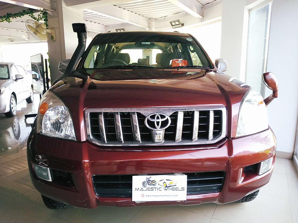 Toyota Prado TZ 4.0 2009 Image-1