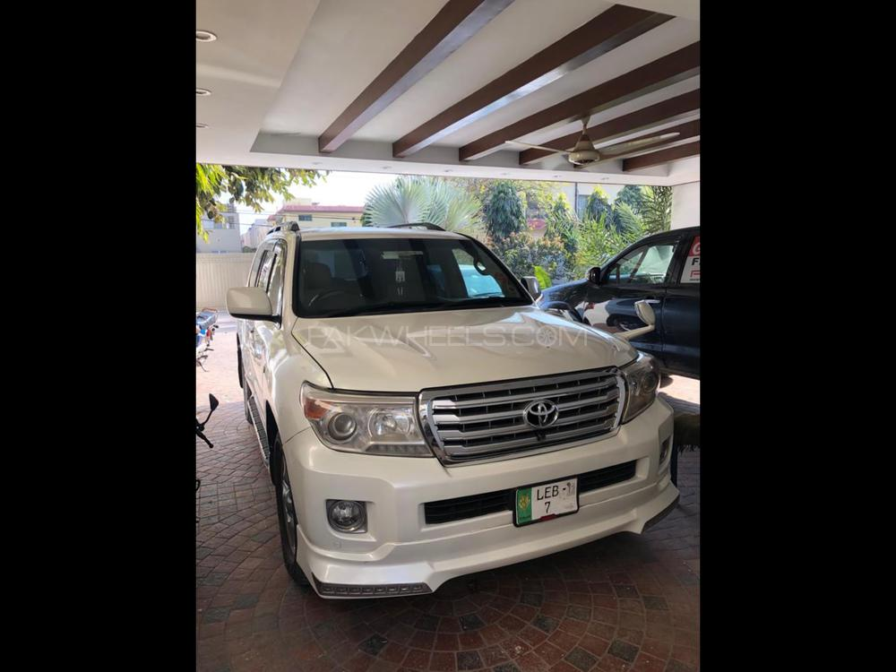Toyota Land Cruiser AX G 60th Black Leather Selection 2007 Image-1