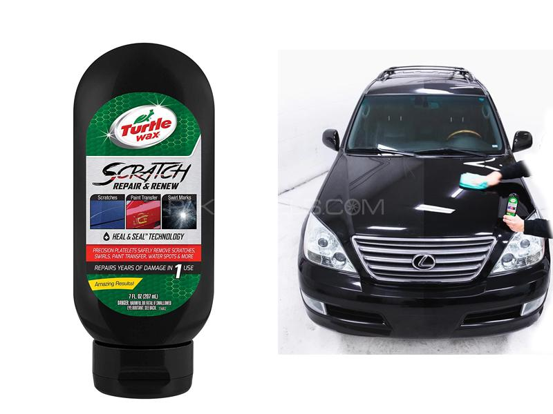 Turtle Wax Scratch Repair And Renew 7oz Image-1