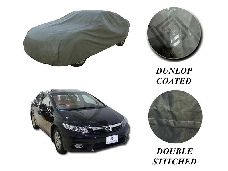 PVC Coated Double Stitched Top Cover For Honda Civic 2012-2016 in Karachi