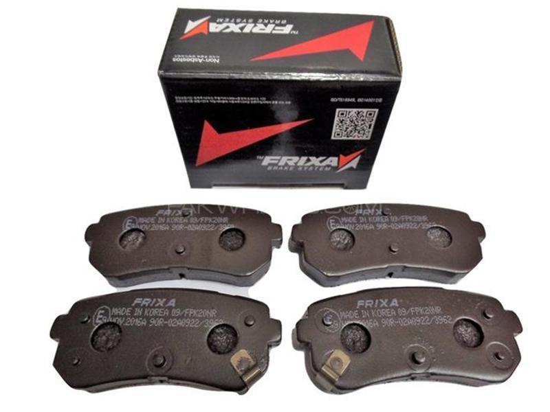 Frixa Front Brake Pad For Suzuki Liana 1.6 2006-2014 - FPE121/126 Image-1