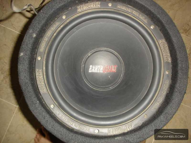 "J.V.C Earthquake 12"" 1000W Bass Tube Enclosure Subwoofer USA Image-7"