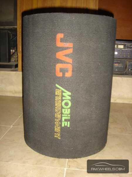 "J.V.C Earthquake 12"" 1000W Bass Tube Enclosure Subwoofer USA Image-8"
