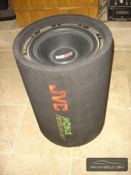 "J.V.C Earthquake 12"" 1000W Bass Tube Enclosure Subwoofer USA Image-9"