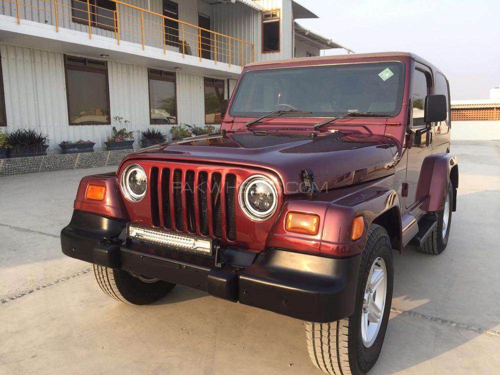 Jeep Wrangler Extreme Sport 2002 Image-1